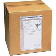 "Clear Packing List Enclosed Envelope Plain Face Top Load 2.0 Mil Thick - 7.5"" X 5.5"" 1000 / Case"