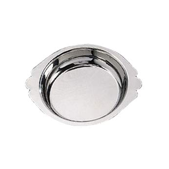 American Metalcraft AR060 Round Stainless Steel Au Gratin Dish, 6-Ounce - Stainless Au Gratin Dish Steel