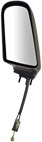 APDTY 066218 Side View Mirror - Left, Manual Remote Black
