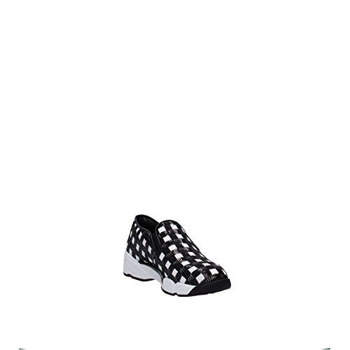 Pinko Donna Slip On 1h207h Y23z Zz1 Paillettes Bianco / Nero