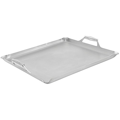 Rocky Mountain Rectangular Steel 4-Burner Griddle - 23''L x 23''W x 3/4''H by SESCO-ROCKY MOUNTAIN