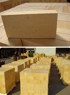 "KT Refractories Fire Brick 1.25""X4.5""X9"",Super Duty"