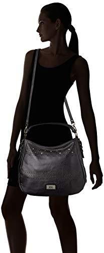 Mujer 17 86001 31 Shopper XTI para x Negro x 40 cm f6qtwx
