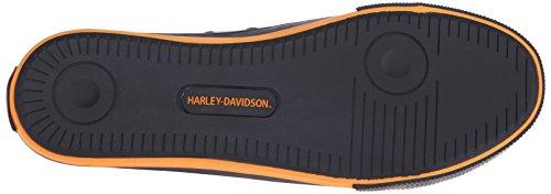 Harrah-davidson Mens Roarke Gevulkaniseerde Schoen Zwart / Oranje