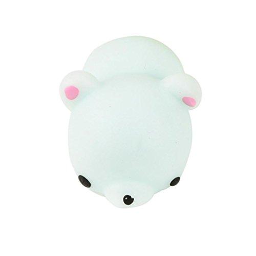 Lisin 1 pc Mochi Squeeze Toy,Cute Mochi Squishy Panda Squeeze Healing Fun Kids Kawaii Toy Stress Reliever Decor (Old Ball And Chain Costume)