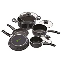 Ecolution Elements 8 Pc. Durable Dining Kitchen Cookware SET