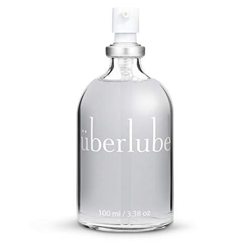 Image of Überlube Luxury Lubricant | Latex-Safe Natural Silicone Lube with Vitamin E |