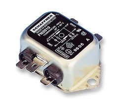 (SCHAFFNER - FN2010-6-06 - EMI POWER LINE FILTER, 6A, 740UA by Schaffner)
