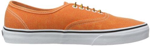 Vans Authentic, Unisex-Adults' Trainer Orange ((Washed)