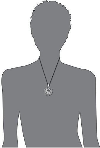 Dan's Jewelers Resistance & Unity Clenched Raised Fist Pendant Necklace, Fine Pewter Jewelry by Dan's Jewelers (Image #2)