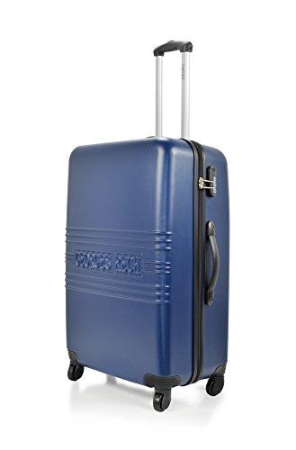 UNANYME GEORGES RECH Trolley rígido Bayonne Azul 70 cm