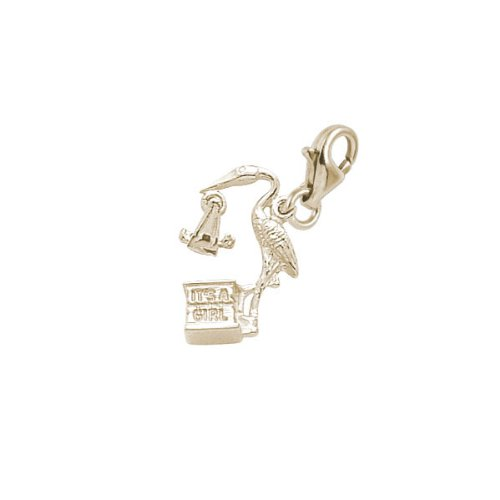 rembrandt-charms-its-a-girl-charm-with-lobster-clasp-10k-yellow-gold