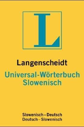Slowenisch. Universal- Wörterbuch. Langenscheidt