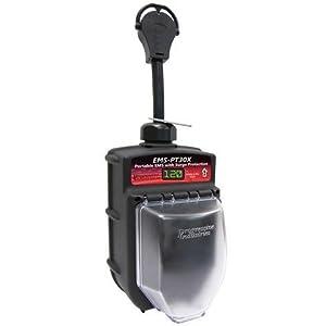 Progressive Industries Portable RV Surge Protector Portable EMS-PT30X RV Surge Protector