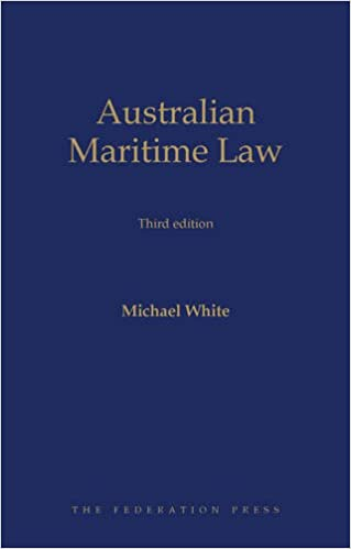 Book Australian Maritime Law