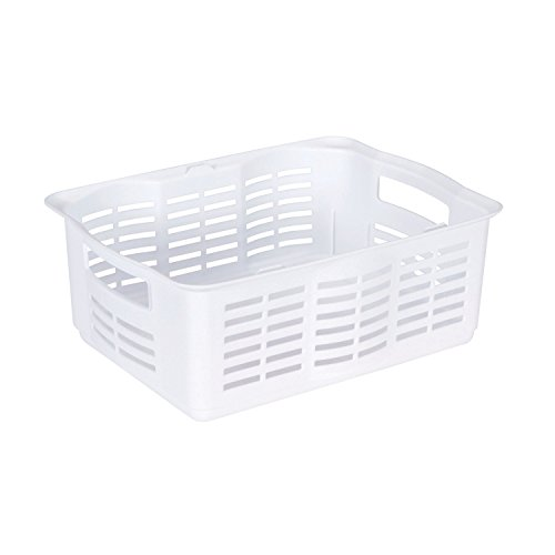 Rubbermaid Large Stackable Basket (FG522706WHT) (Rubbermaid Stackable Baskets)