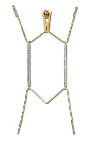 OOK 50472 Deluxe Plate Hanger with Steel Pro Supports Up to 30 Pounds, 10-Inch to 14-Inch by OOK