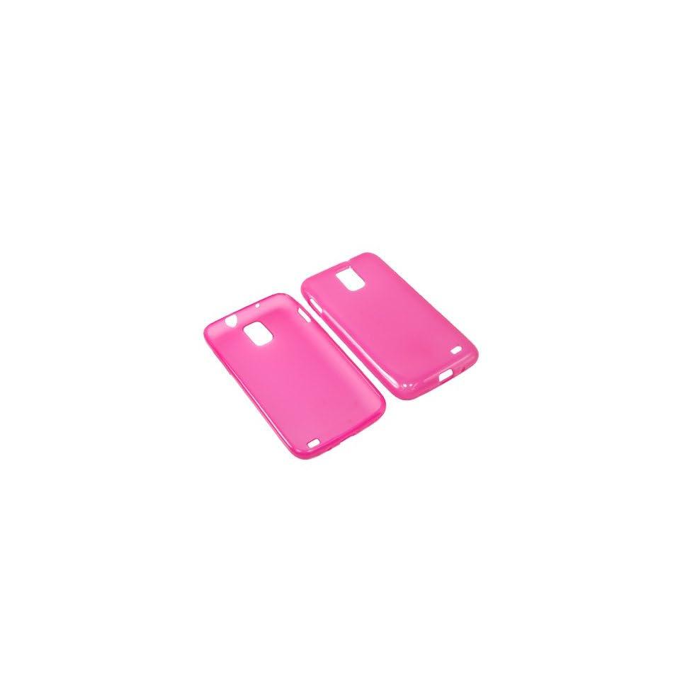 BW TPU Sleeve Gel Cover Skin Case for AT&T Samsung Galaxy S II Skyrocket i727  Pink