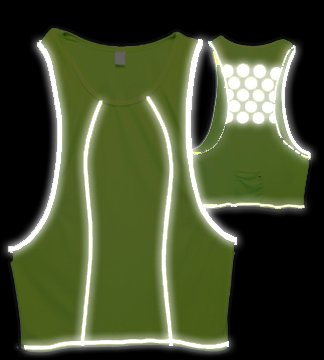 Reflect+ Vest: High-Viz Reflective Vest S/M (Women's)