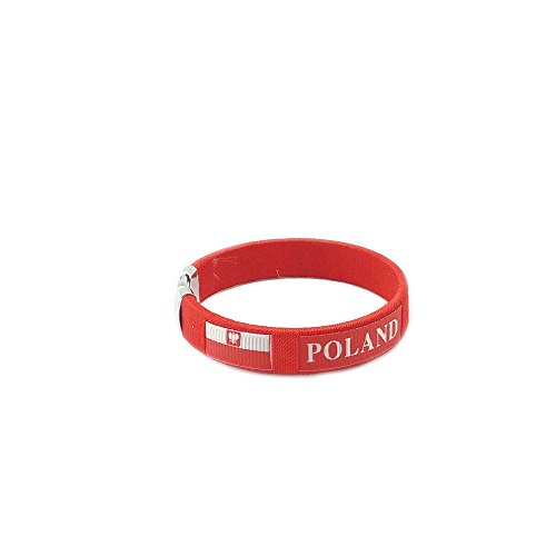 Amana Countries of the World Flag C Bracelets Wristbands (Poland - ()