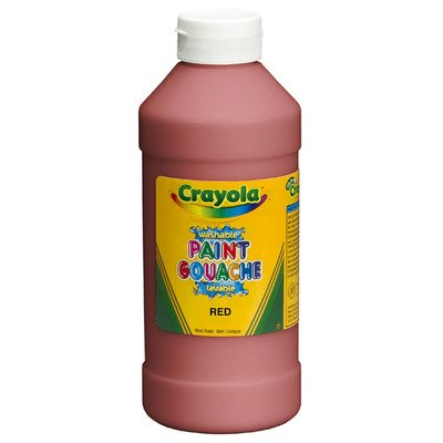 Crayola Washable Paint 16 Oz Peach [Set of 2]