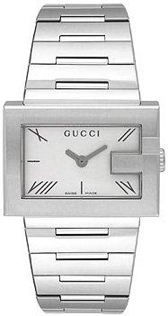 Gucci 100 G-Rectangle Series Ladies Watch YA100506 Wrist Watch (Gucci Ladies Wrist Watch)