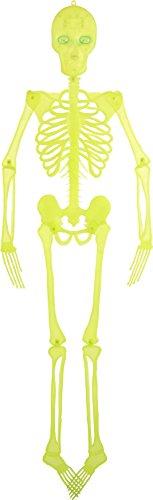 - Glowing Skeleton with Light Up Eyes Hanging Decoration