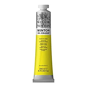 WINSOR AND NEWTON WINTON OIL COLOR 200ML CAD LEMON NY