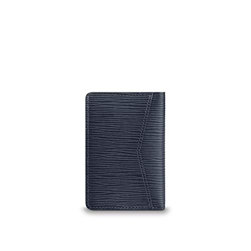Louis Vuitton Pocket Organizer Epi Leather (Navy Blue)