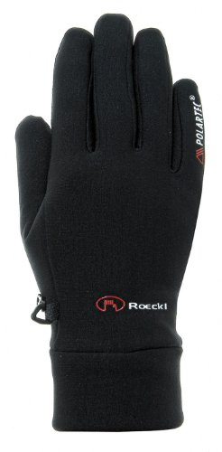 Roeckl Pino Winter Fahrrad Handschuhe lang schwarz: Größe: 6
