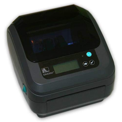 Zebra GX420D 802.11 Wireless WiFi Direct Thermal Label Printer (GX42-202710-000) by ZEBRA