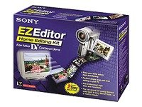 Sony EZEDITOR MiniDV Home Video Editing Kit for PC (Windows 98 and Higher)