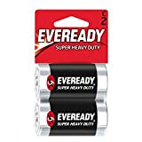 Eveready Super Heavy Duty C Cell Battery 2 Pack - 1235SW2