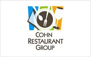 - Cohn Restaurant Group Gift Card ($50)