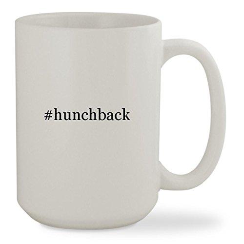Disney Frollo Costume (#hunchback - 15oz Hashtag White Sturdy Ceramic Coffee Cup Mug)