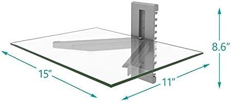 Amazon.com: WALI CS201S Floating Wall Mounted Shelf with ...
