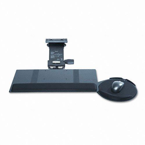 (Kelly Computer Supply 69575 Leverless Lift N Lock Keyboard Tray, 19w x 10d, Black)