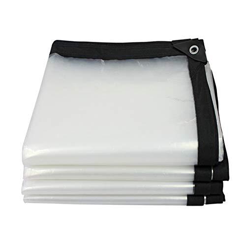 骨リビジョンペチュランスJIANFEI オーニング 防水耐寒性耐摩耗性透明絶縁、PVC 22サイズカスタマイズ可能 (色 : クリア, サイズ さいず : 4x6m)
