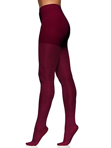 Berkshire Women's The Easy On! 40 Denier Shine On Tights, Garnet Red, Small by Berkshire