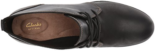 Black Flora Women's Ankle Clarks Bootie Maypearl wE4Xq1A6