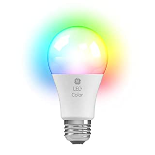 LED+ Color Changing Light Bulb with Remote Control, A19, 60-Watt Replacement, Full Color, Colored Light Bulb with 10 Color Options