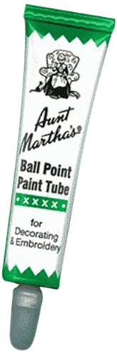 Aunt Martha's Ballpoint Paint Tubes 1 Ounce-Green by Aunt Martha's   B004BPZKXM