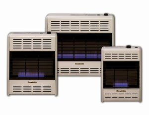 HeathRite Vent-Free Blue Flame Heater Natural Gas 30000 B...