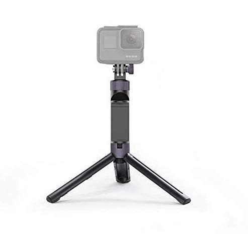 OSMO Pocket Handheld, PGYTECH Universal Hand Grip & Tripod for DJI OSMO Action/OSMO Pocket/Gopro 7/6/5 Series Action Cameras with Luckybird USB Reader