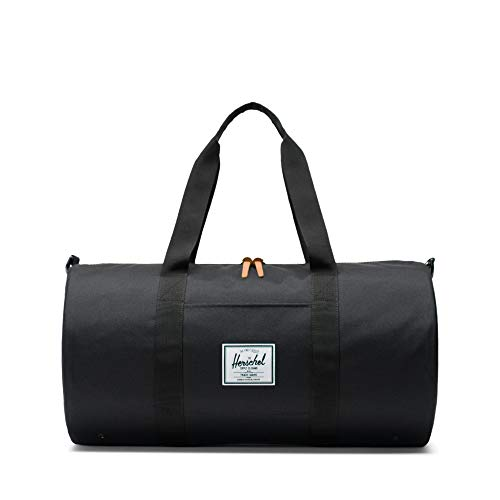Herschel Sutton Mid-Volume Duffle Bag-Black
