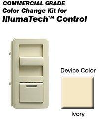 Leviton IPQFK-I Color Change Kit IllumaTech Decora Style Quiet Fan - Ivory (Pkg of 10)
