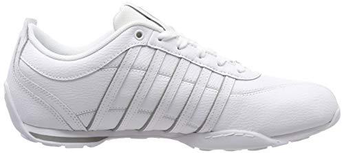 White K Herren 119 Swiss Arvee Niedrige Neutral Hausschuhe Gray White Weiß 1 5 q6qrz