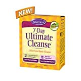 7-Day Ultimate Cleanse Kit by Nature's Secret, 2 Part Fiber & Herb Total Body Cleanse | 72 Tablets (Pack of 2)