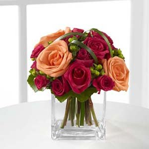 Fresh Flowers- Passionate Blooms Bouquet by Mr. Bokay Flowers & Greenhouse