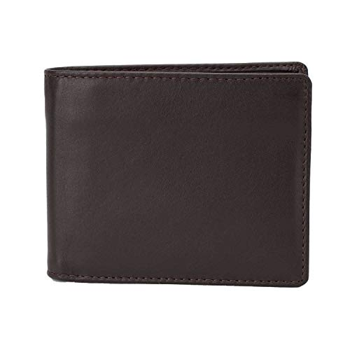Slim Mens Leather Wallet